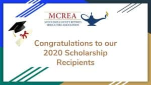 Congratulations to our 2020 Scholarship Recipients